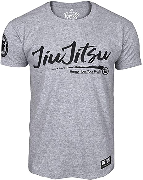 Thumbs Down JIU-Jitsu Brasileño Camiseta Remember Your Roots MMA ...