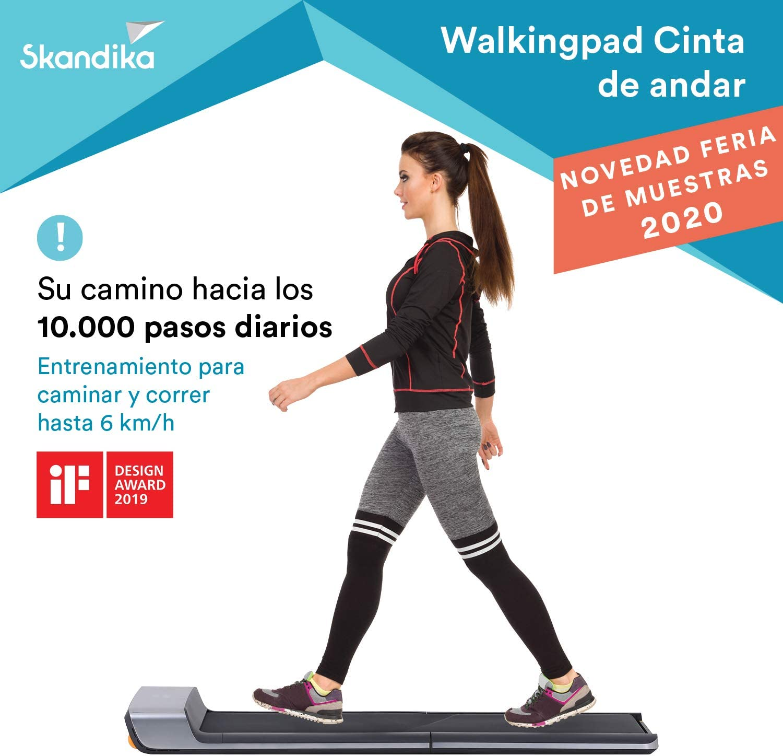 skandika Walkingpad - Cinta de Andar/Correr Plegable - Mando a ...