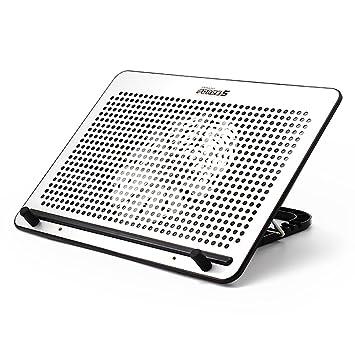 Favourall 12 - 17 pulgadas Gaming Laptop Enfriador, portátil de ultra slim Silencioso Ventilador de refrigeración pad, ajustable velocidad del viento, ...