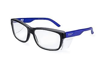Pegaso 125.09.015 - Gafas contra impactó con lentes pre graduadas, Multicolor (Negro/Azul), +1.5, L: Amazon.es: Bricolaje y herramientas