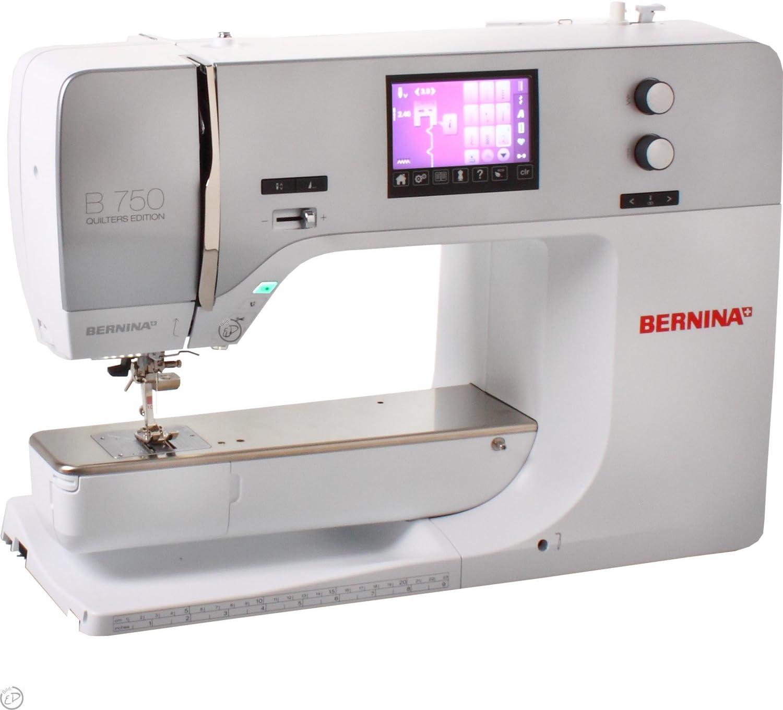Bernina 4250229844671 - Máquina de Coser 750 qe: Amazon.es: Hogar