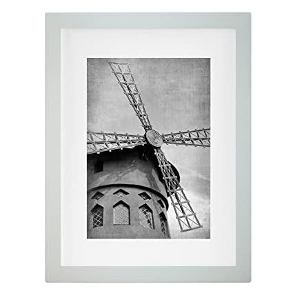 Amazon.com - Wieco Art 8x10 White Wooden Photo Frames Wood Picture ...