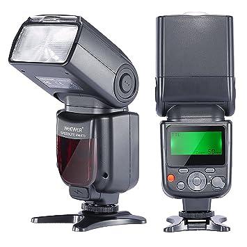 Neewer NW-670 TTL Flash Blitz Blitzgerät mit LCD-Anzeige für Canon 7D Marke II,5D Marke II III,IV,1300D,1200D,1100D,750D,700D