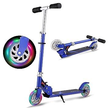 Hikole Scooter para niños | Mini Plegable portátil Ajustable ...
