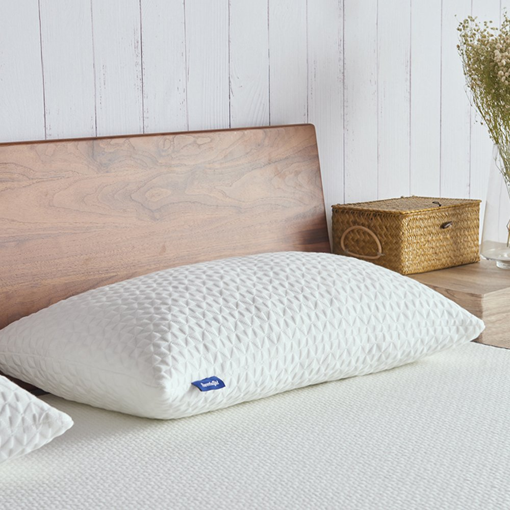 Sweetnight Pillows for Sleeping Adjustable Loft \u0026 Neck Pain Relief-Shredded Hypoallergenic Certipur Gel Memory Foam Pillow with Removable CaseBed Pillows ... & Best Rated in Bed Pillows \u0026 Helpful Customer Reviews - Amazon.com