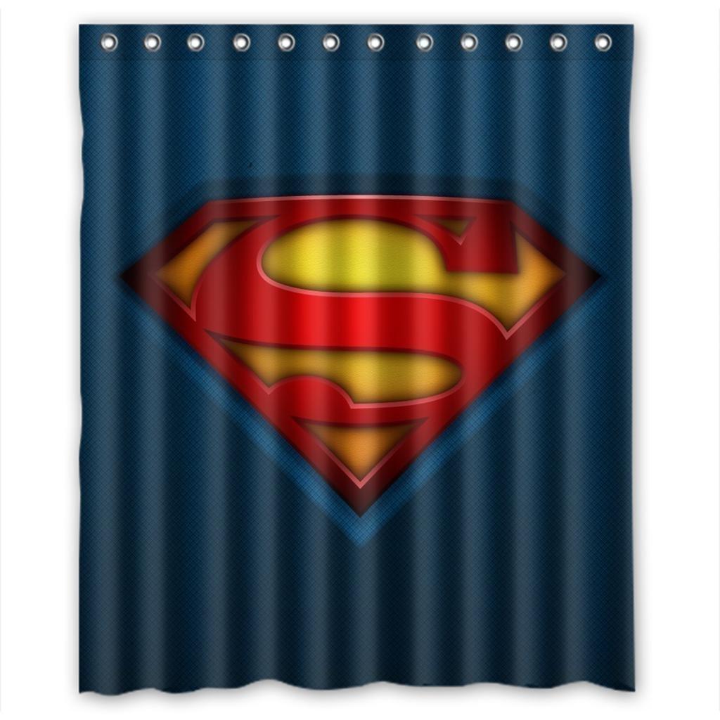 Amazon.com: Custom Superman Logo Waterproof Polyester Fabric ...