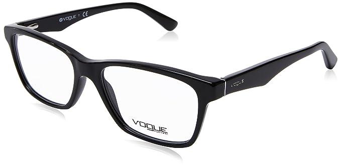 904845581abd0c VOGUE Monture lunettes de vue VO 2787 W44 Noir 51MM  Amazon.fr ...