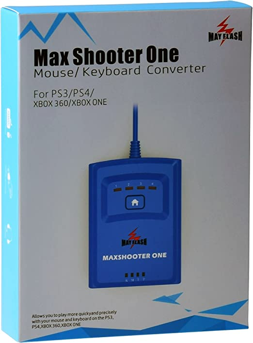 Amazon.com: Mayflash Max shooter un convertidor de mouse ...
