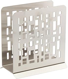 Wedding Gift Boxed Modern Napkin Holder Stainless Steel By HomeWorks