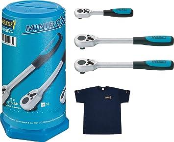 Hazet Mini caja Cantidad de herramientas 4, 1 pieza, 916SP/4: Amazon.es: Bricolaje y herramientas