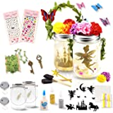 Seckton Fairy Lantern Craft Kit for Kids, Starry Fairy String Lights Art Crafts, First DIY Mason Jar Set for Little…