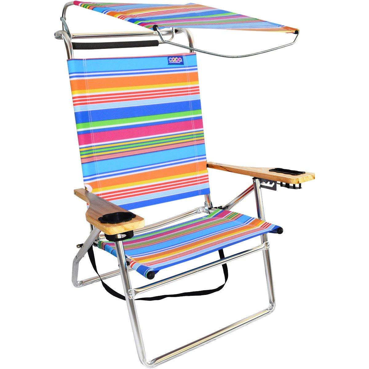 デラックス4位置アルミキャノピー椅子 B07BJCZWG7