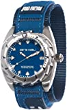 Animal Zepher Men's Quartz Watch with Blue Dial Analogue Display and Blue Fabric Strap WW3WC012 - 882 - O/S