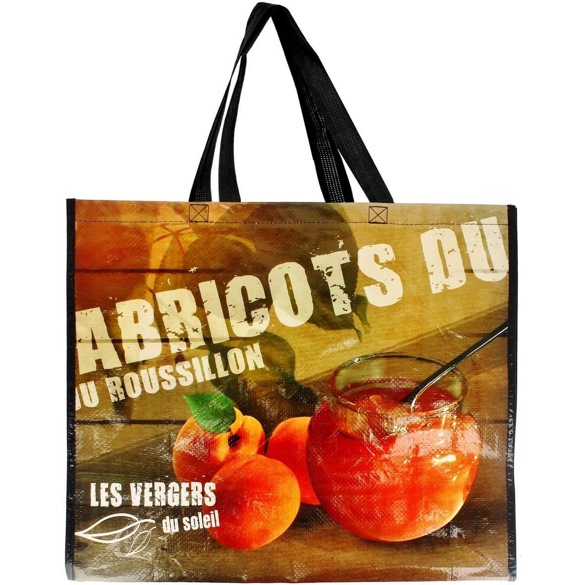 Promobo - Sac Pour Course Shopping Cabas Collection Du Terroir Abricots sacterroirabricot
