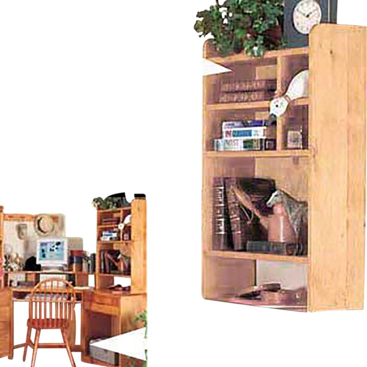 Amazon.com: Renovators Supply Manufacturing Wood Desktop Shelf