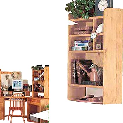 Amazon Com Renovator S Supply Wood Desktop Shelf Organizer Unit