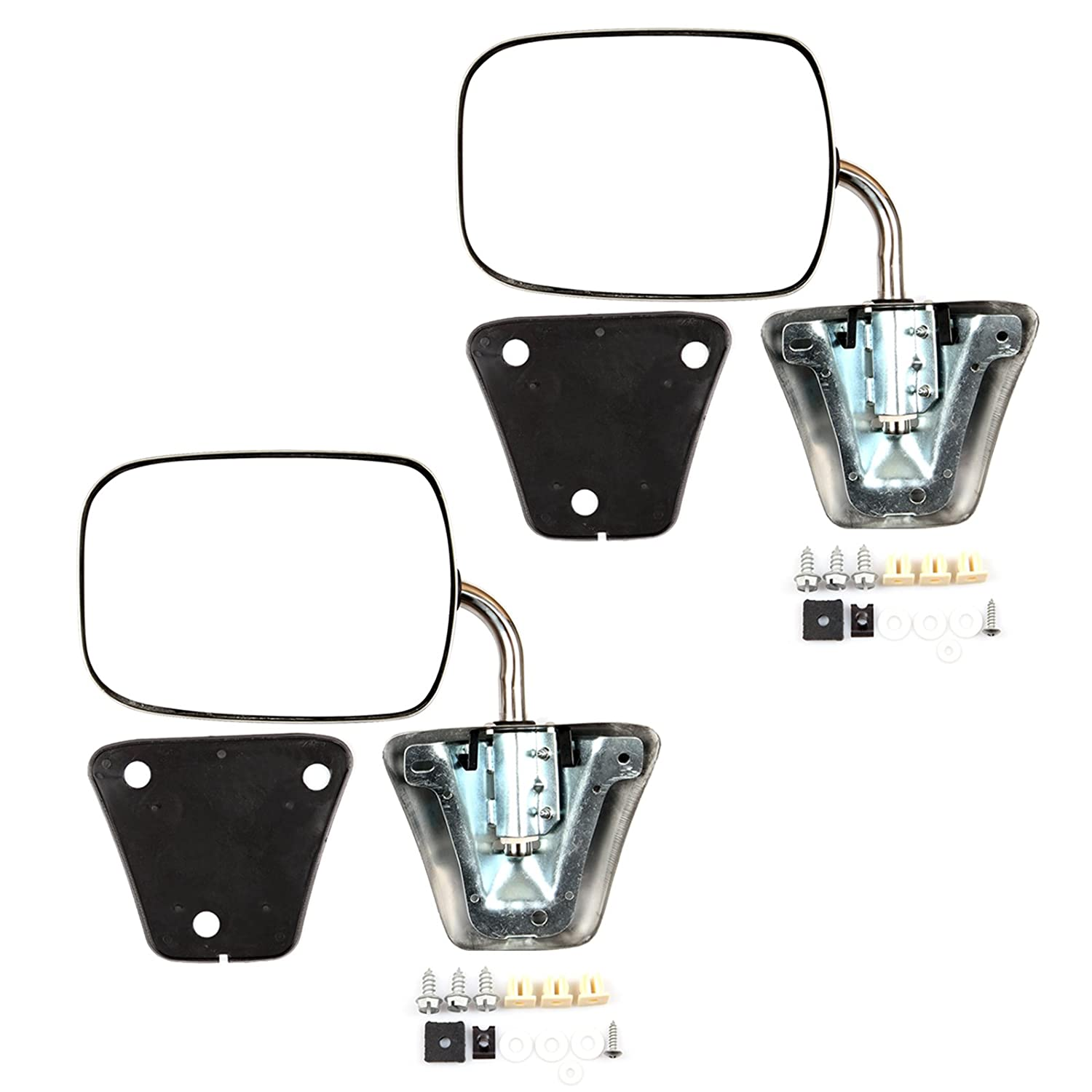 For Chevrolet,GMC Driver and Passenger Pair Set DOOR MIRROR New