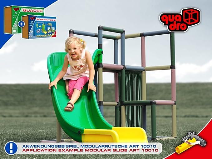 Klettergerüst Quadro Anleitung : Quadro bogenrutsche inkl rahmen amazon