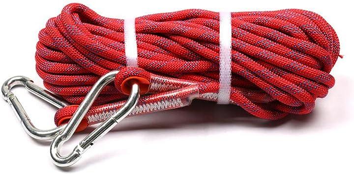 SZING Cuerda de escalada para exteriores/cuerda auxiliar de ...