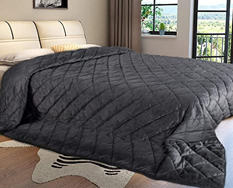 Tagesdecke Bettüberwurf Steppdecke Doppelbett Kariert Wohndecke Crème 240x260cm