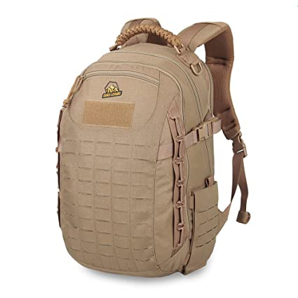 ed028972af0f Amazon.com : Military Dragon Egg Shape Tactical Assault Pack EDC Backpack  Army Molle Bug Out Bag Backpacks Rucksack for Outdoor : Sports & Outdoors