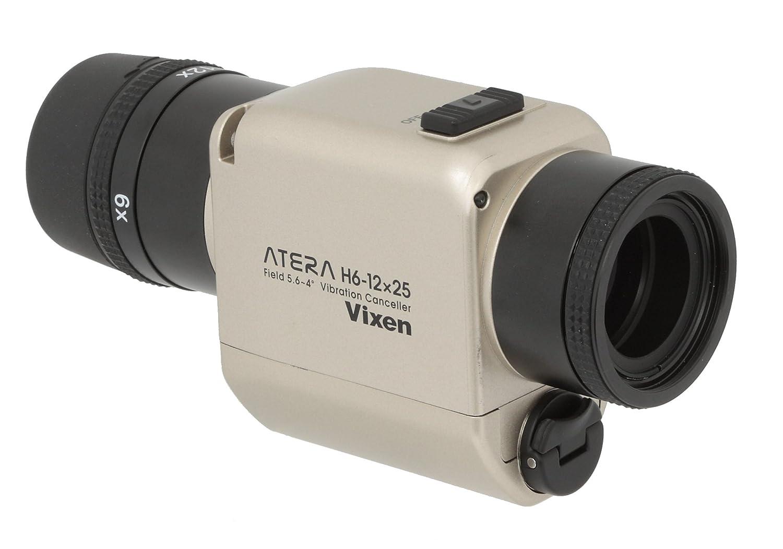 Vixen 単眼鏡 防振単眼鏡 ATERA H6-12×25 シャンパンゴールド 11492-4  シャンパンゴールド B011KOXP92