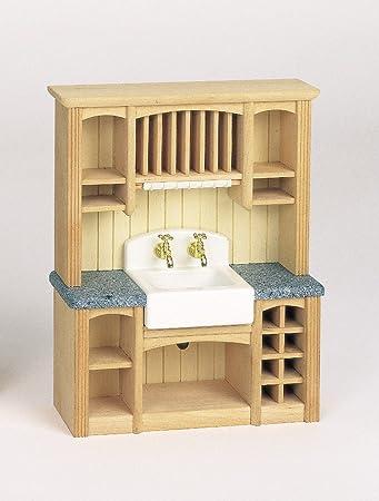 Bodo Hennig dolls house miniature furniture bodo hennig country kitchen dresser