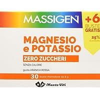 Massigen Magnesio e potassio Senza Zucchero 30 buste
