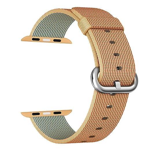 134 opinioni per Apple Watch cinturino ,PUGO TOP Woven Nylon Replacement Wrist cinturino Bracelet