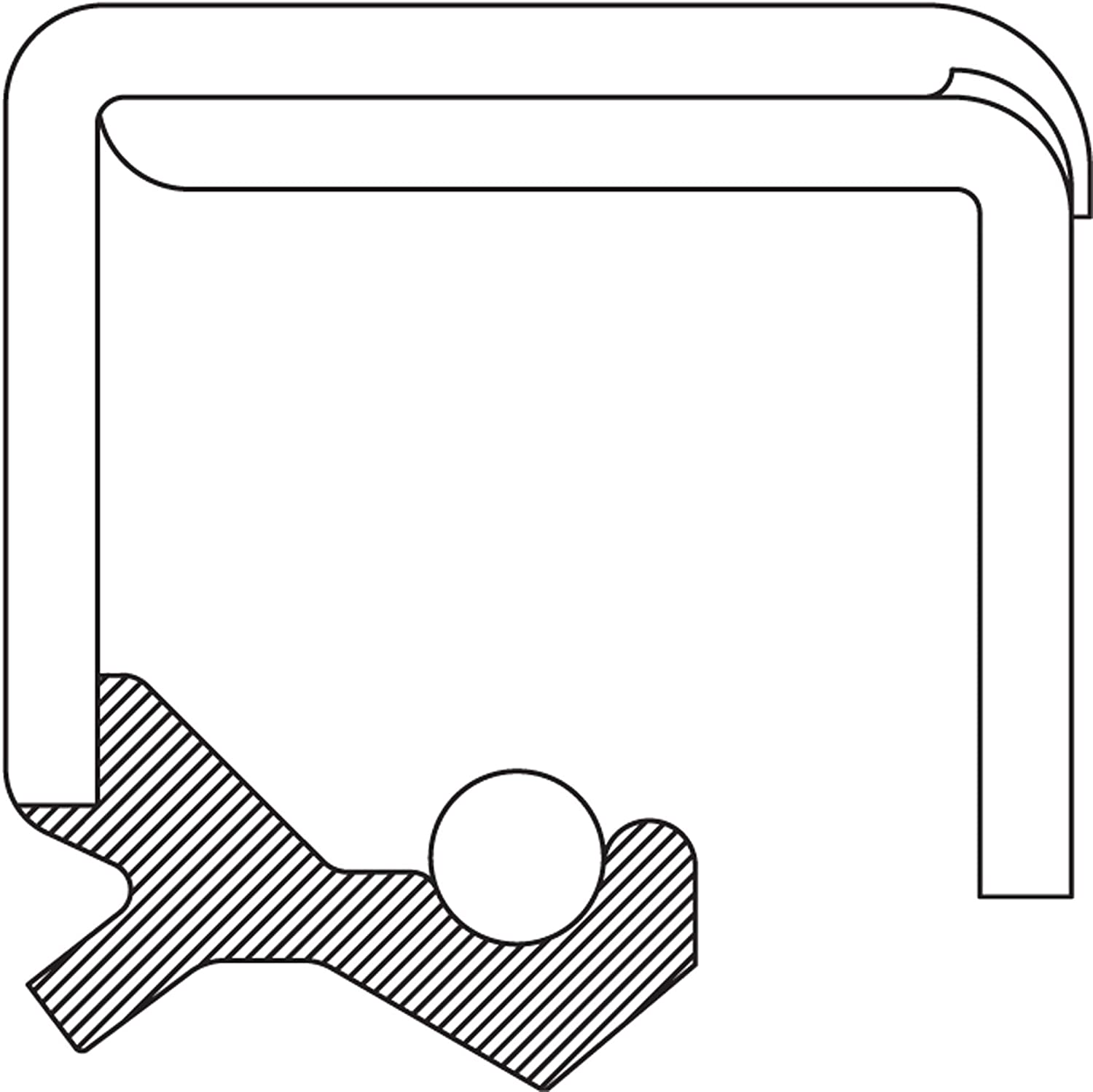 National 417349 Oil Seal