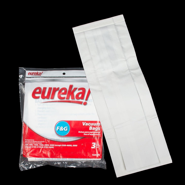 Eureka F/&G Vacuum Bags 54924B Genuine - 54924C 2 packs of 10 = 20 bags