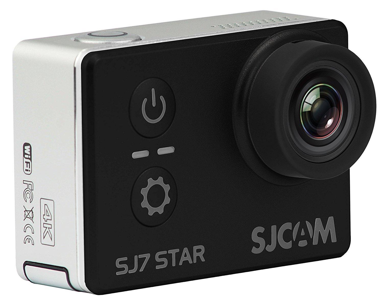SJCAM SJ7 STAR 4K 12MP 2'' Touch Screen Metal Body Gyro Waterproof Sports Action Camera BLACK by SJCAM (Image #2)