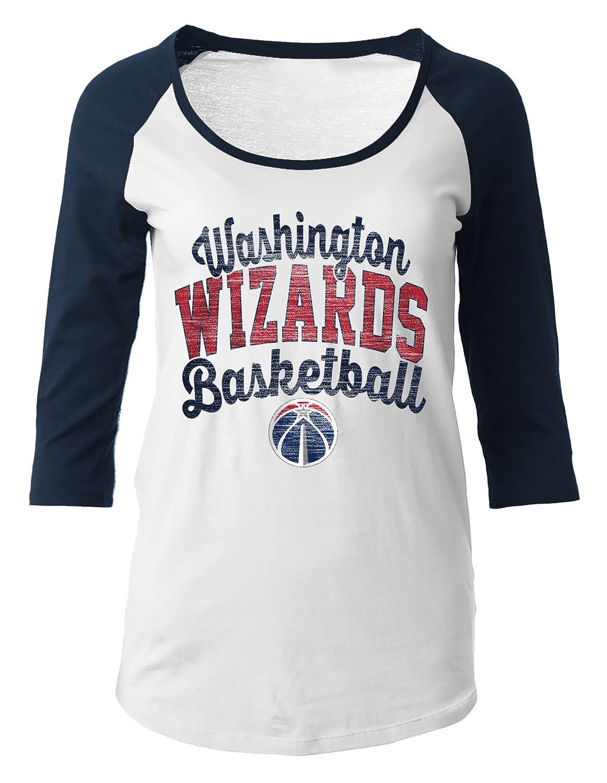 NBA レディース 綿100% Baby(ベビー) ジャージ生地 七分袖 スクープネック Tシャツ S   B01LXD65H6