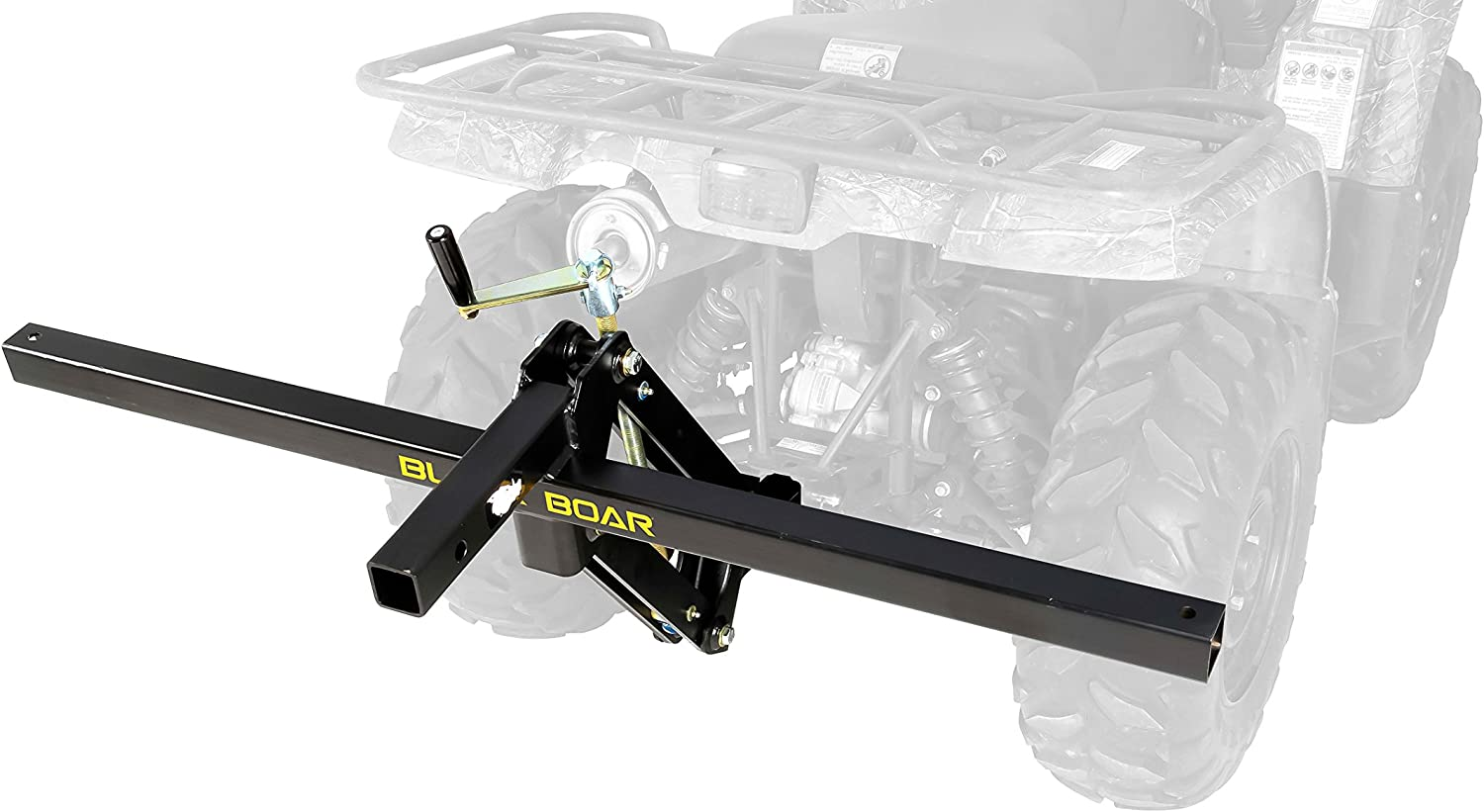 Black Boar ATV/UTV, Manually Lift and Lower Implements with Handle or Actuate Using a Drill and Socket (66013)
