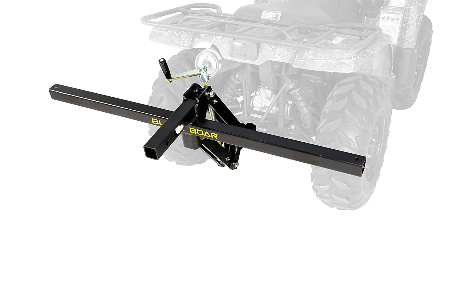 Camco Black Boar ATV/UTV Scrape Blade Implement, Adjusts 0, 7.5 or 15 Degrees in Either Direction 66005