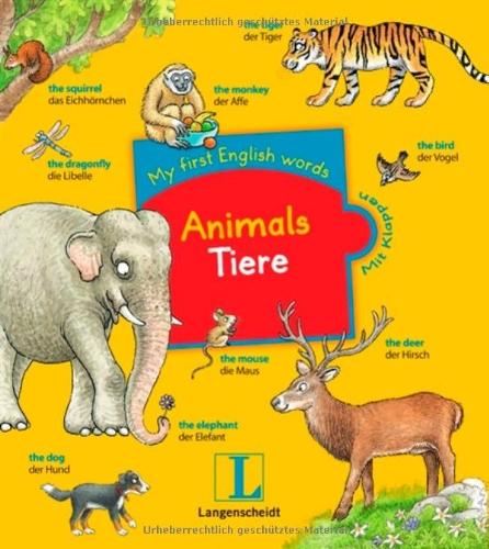 Animals - Tiere: My first English words, Englisch