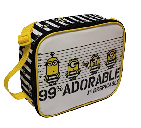 Universal® Minions Official Lunchbag Lunch Bag Case for School Kids Children