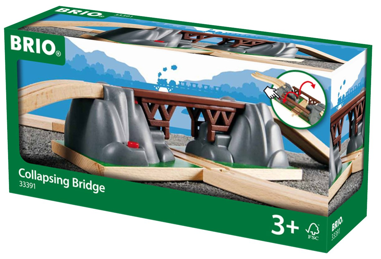 BRIO World - Collapsing Bridge 33391