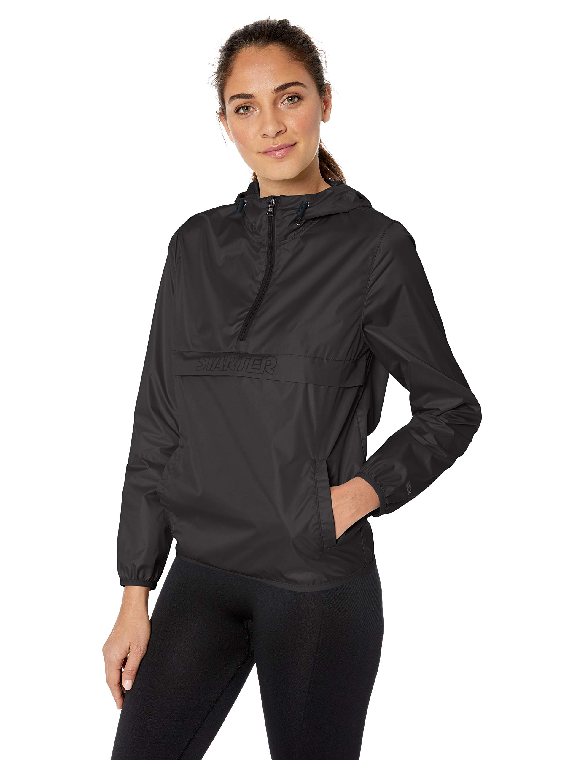 Starter Women's Popover Packable Jacket Amazon Exclusive