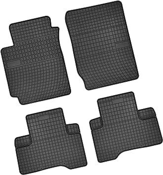 Bär Afc Su03718 Gummimatten Auto Fußmatten Schwarz Erhöhter Rand Set 4 Teilig Passgenau Für Modell Siehe Details Auto