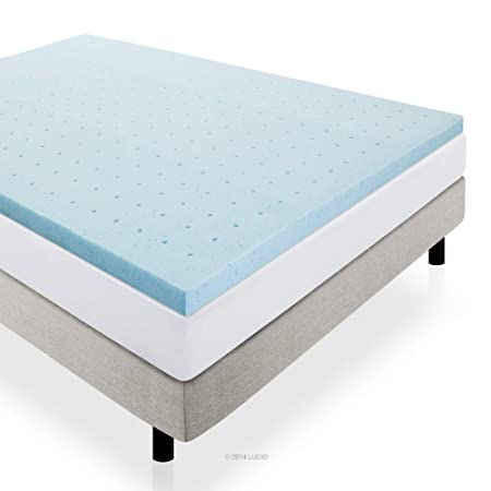 Lucid 2-inch Gel Infused Memory Foam