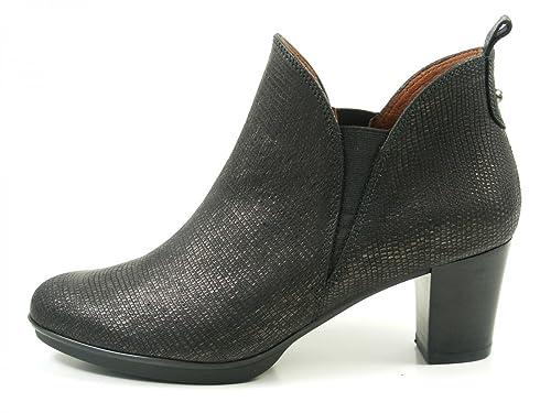 Hispanitas Brenet HI63729 Botines de Cuero Para Mujer Ankle Boots, Schuhgröße_1:38 EU;
