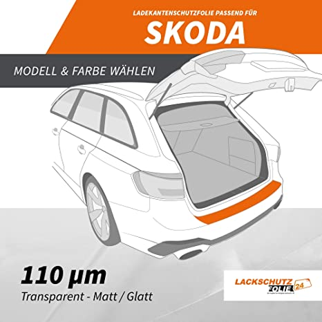 ab 2006 Bj Ladekantenschutz Lackschutzfolie transparent Volvo C30