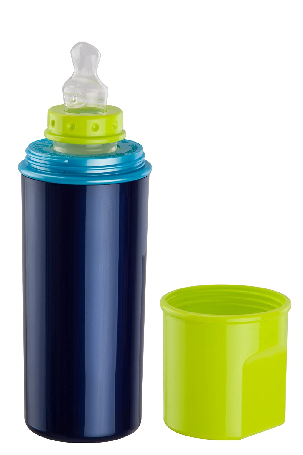 Rotho Babydesign 30026 0020 01 Warmhalteflasche, blue perl