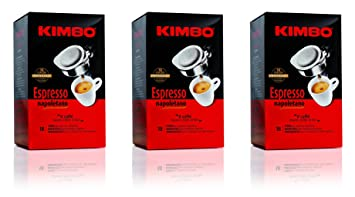"Kimbo: ""Espresso Napoletano"" Pods (54 Individually Wrapped Pods) [ Italian"