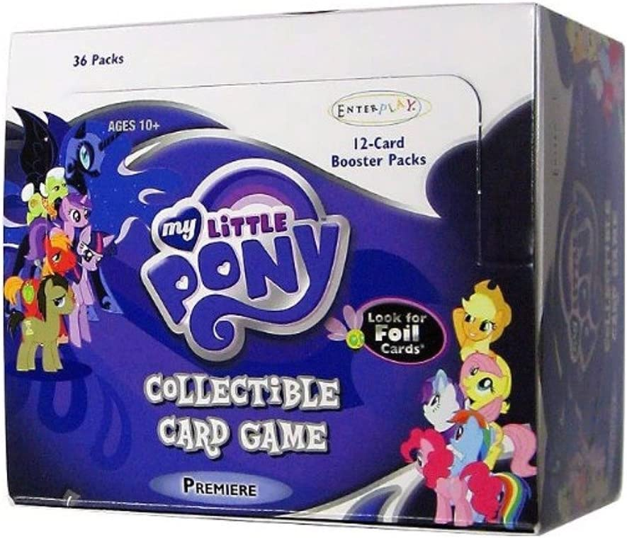 The Crystal Games Booster Box My Little Pony CCG