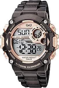 كيو اند كيو ساعة رياضية للرجال رقمية سيليكون - M146J008Y