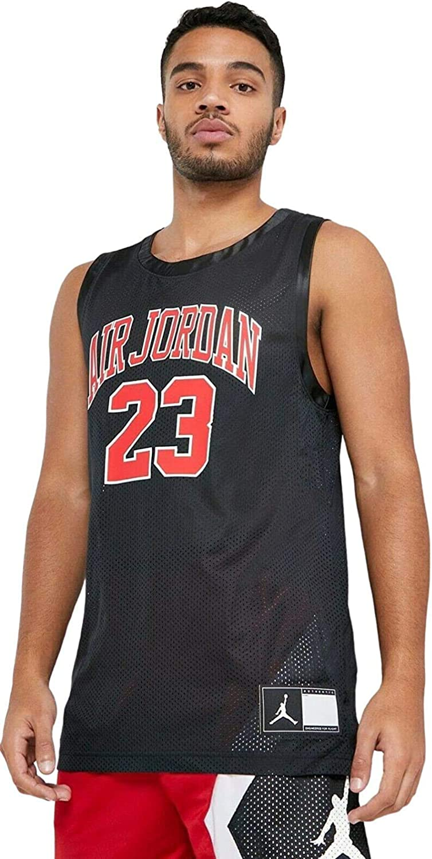 invadir Montón de patio de recreo  Nike Jordan DNA Distorted Men's Black Basketball Jersey Size XS at Amazon  Men's Clothing store