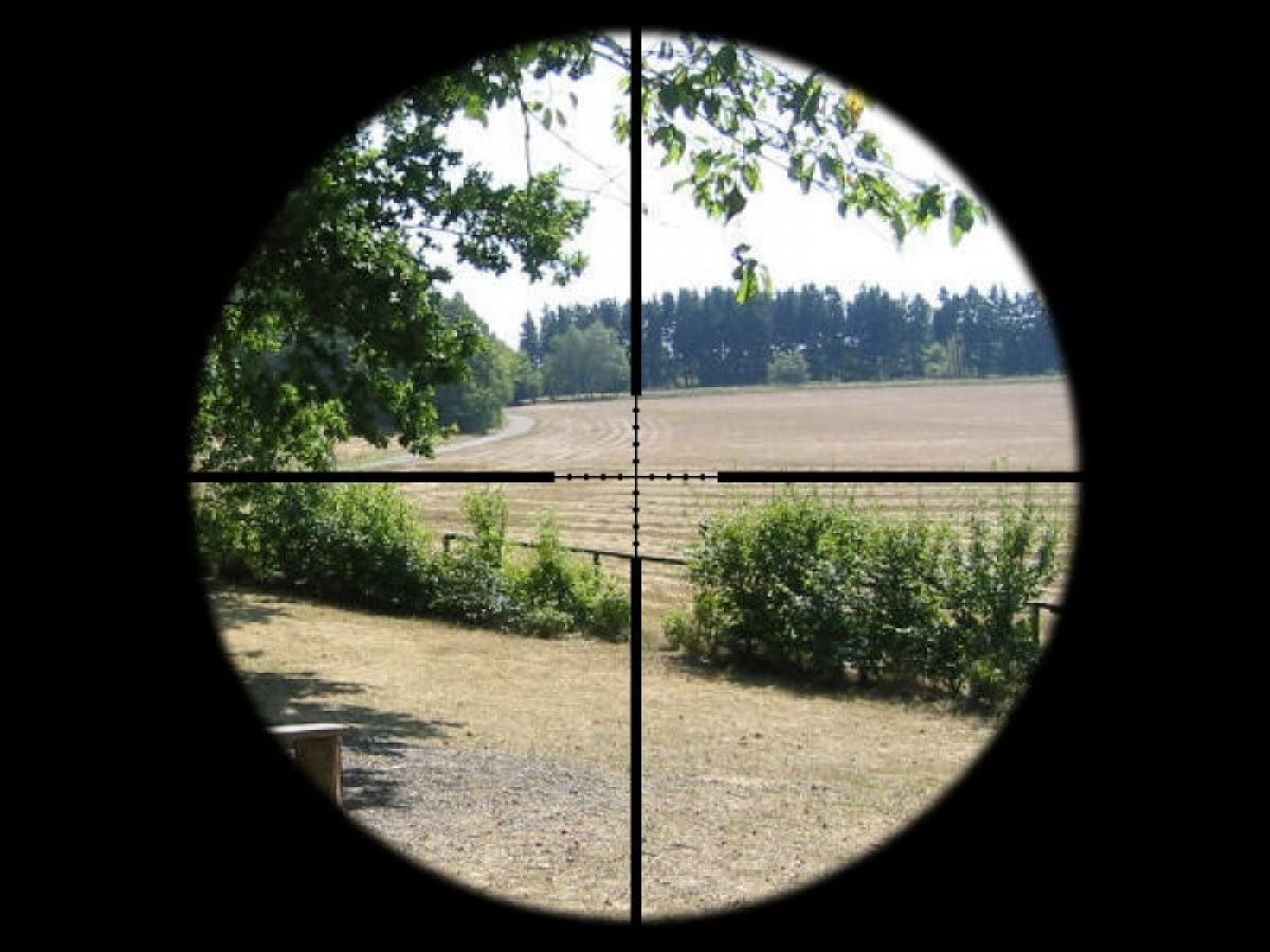 SUTTER Zielfernrohr 3-12x40 d=25,4 Mildot Rotpunkt Zielvisier RedDot