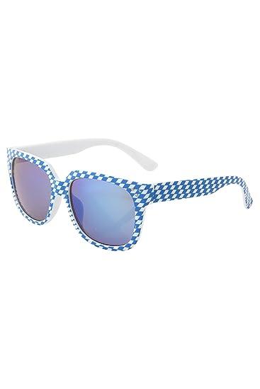 BavaRoi Trendige Rautensonnenbrille mit verspiegelten Gläsern in 2 verschiedenen Farben k4tNtV8